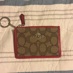 Keys and card pouch